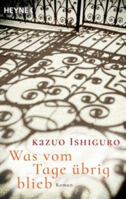 Buchcover von Was vom Tage übrig blieb